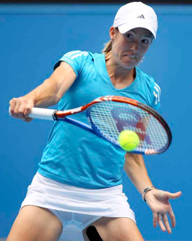 Tennisspielerinnen Blitzer