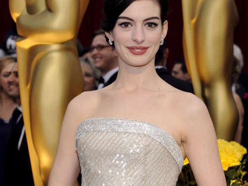 "Anne Hathaway: ""Hasty Pudding Woman of the Year"""