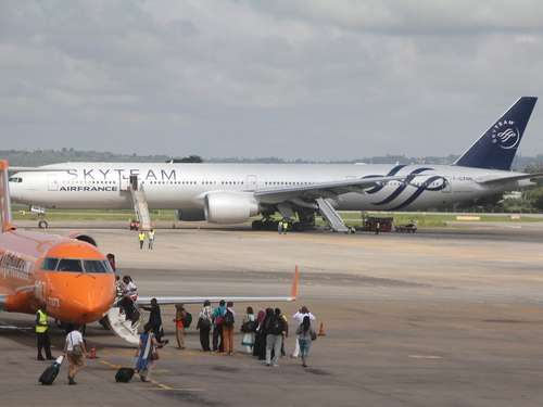 Falscher Alarm bei Air-France-Flug