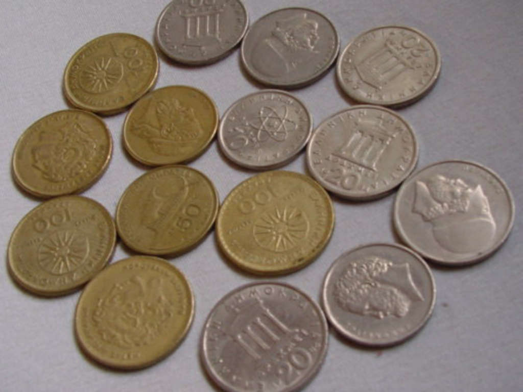Alte Währung Griechenland