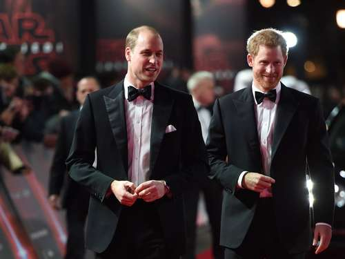 "Premiere in London: Prinzen William und Harry schauen ""Star Wars 8"""