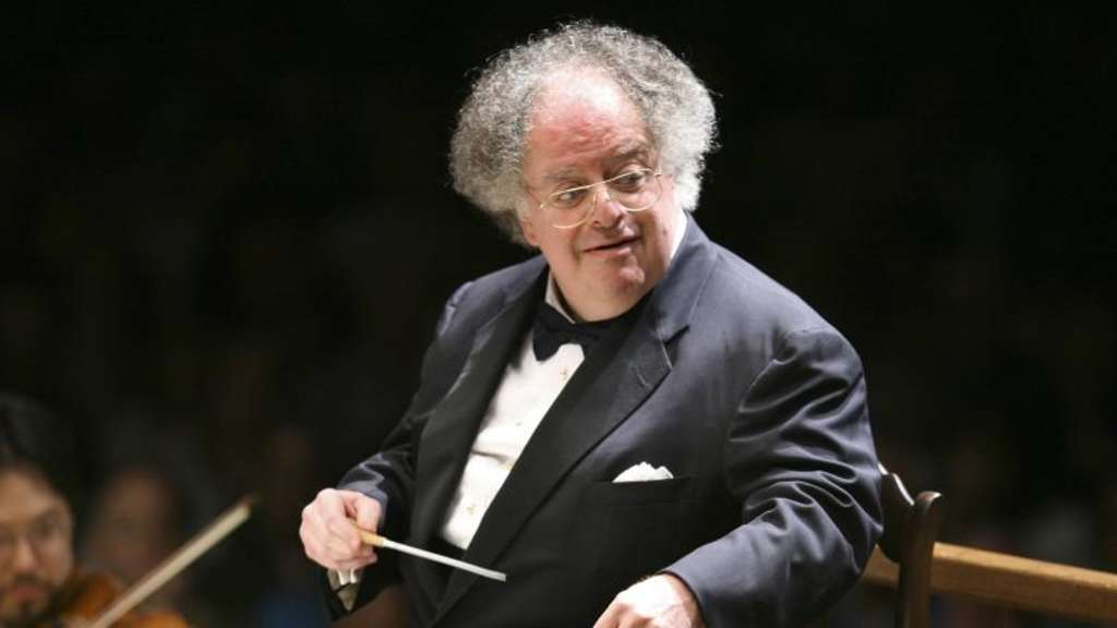 James Levine am Pult (2006). Foto: Michael Dwyer
