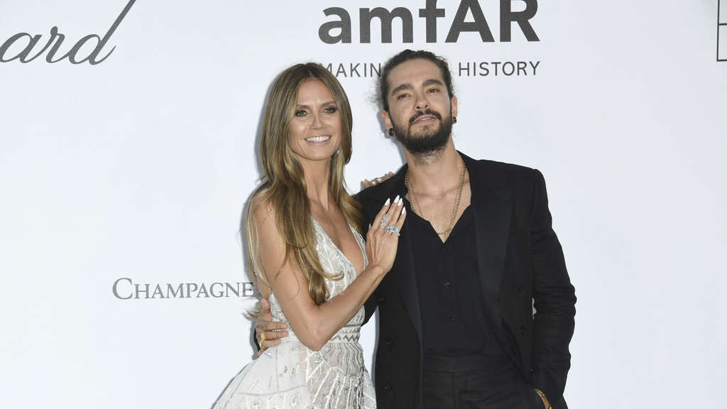 Heidi Klum und Tom Kaulitz in Cannes.