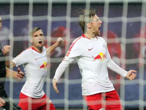 RB Leipzig mit Last-Minute-Tor in die Europa League