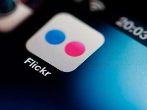 Flickr-Fotos bei Gratis-Account sichern