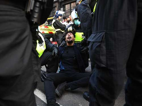 Anti-Lockdown-Protest: Mehr als 150 Festnahmen in London