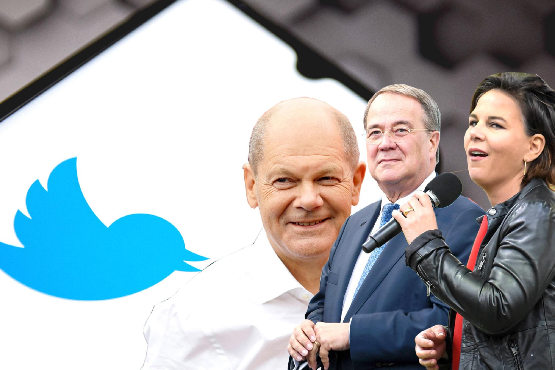 Bundestagswahl 2021 Reaktionen: Social Media reagiert auf Scholz und Laschet